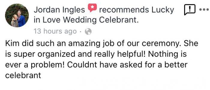 Auckland Wedding Celebrant,